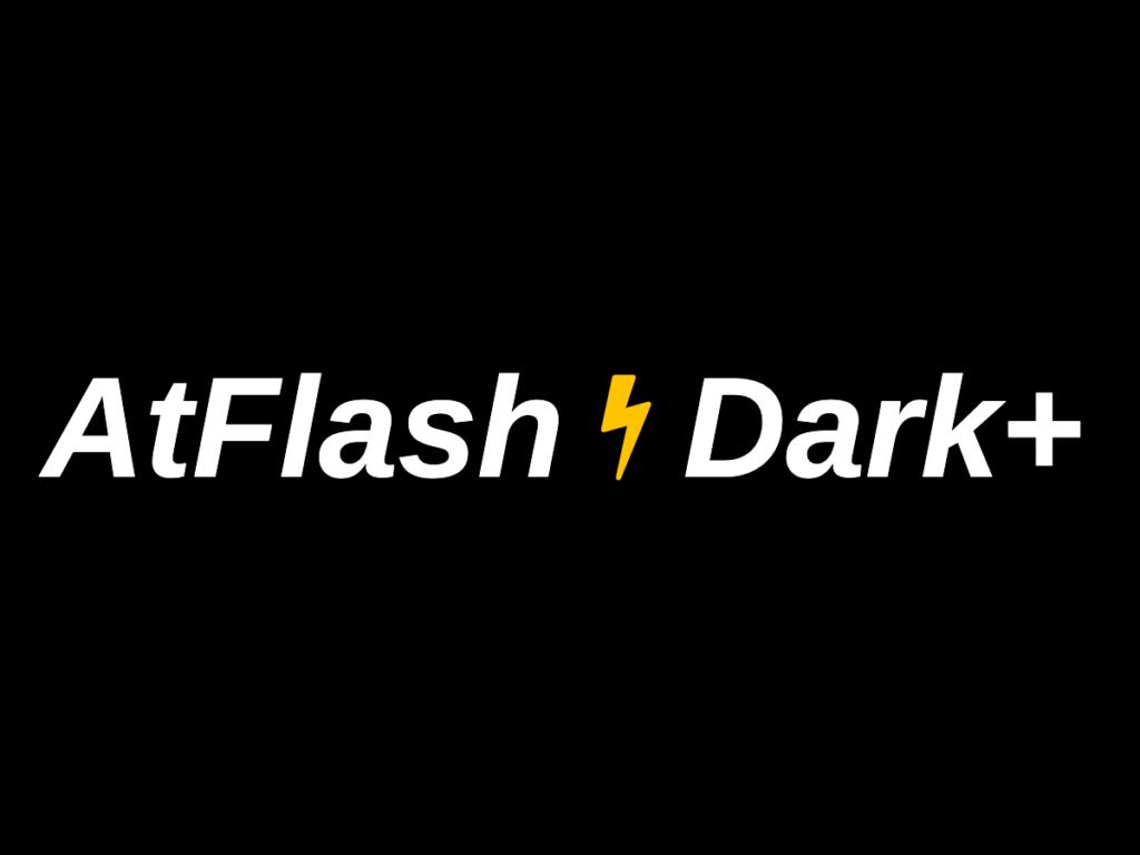 AtFlash Dark+